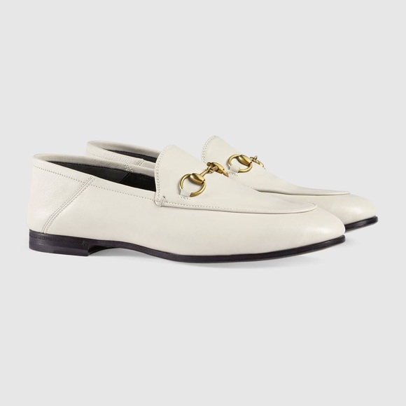 8103b4582b6 Gucci New Brixton Leather Horsebit Loafer